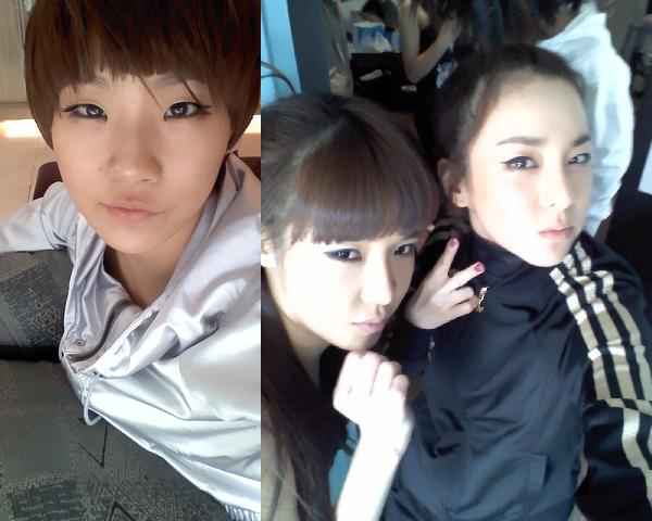 2ne1 Sandara CL Minji